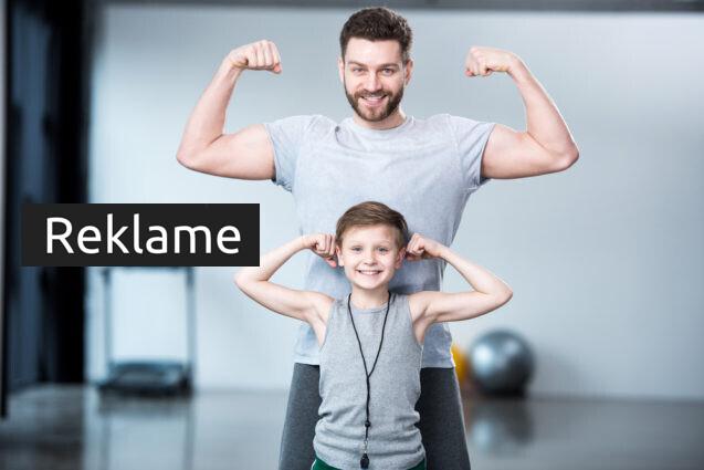 Al bevægelse er sundt – vær aktiv med dine børn